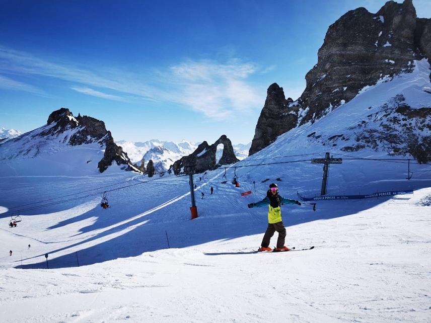Snow conditions Tignes Wed 12 Feb 2020 - 09:52